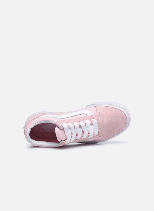 Sneakers Vans Old Skool E Rosa immagine sinistra