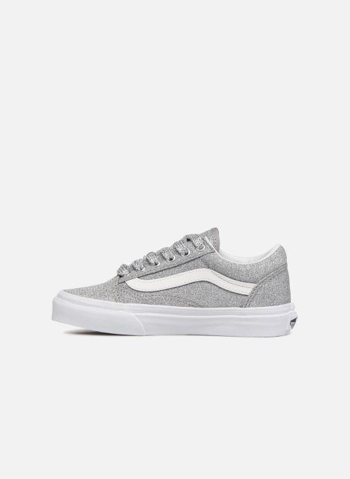 Sneaker Vans Old Skool E silber ansicht von vorne