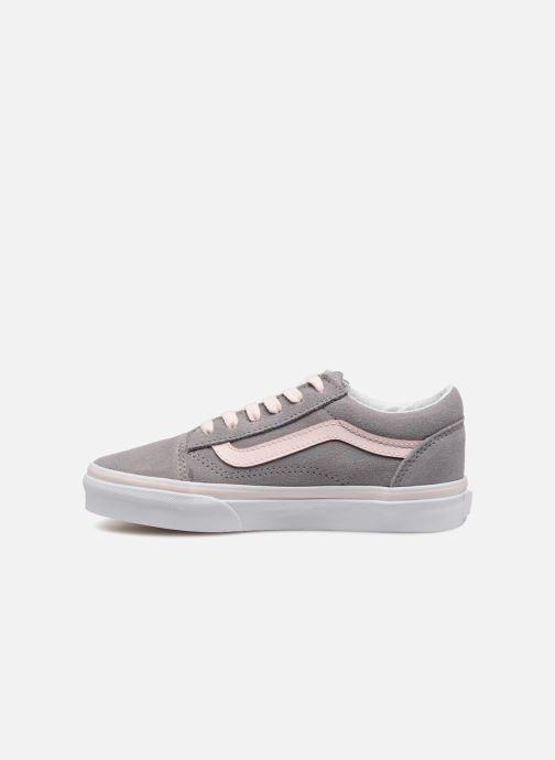 Sneaker Vans Old Skool E grau ansicht von vorne