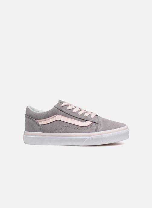 Sneaker Vans Old Skool E grau ansicht von hinten