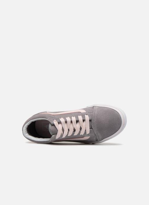 Sneaker Vans Old Skool E grau ansicht von links