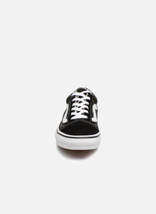 Baskets Vans Old Skool E Noir vue portées chaussures