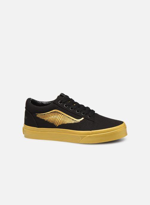 Sneaker Vans Old Skool E schwarz ansicht von hinten