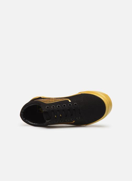 Sneaker Vans Old Skool E schwarz ansicht von links