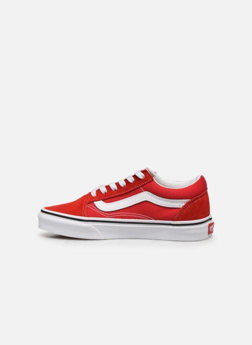 Sneakers Vans Old Skool E Rood voorkant