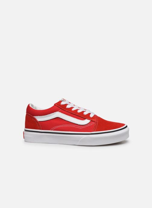 Trainers Vans Old Skool E Red back view
