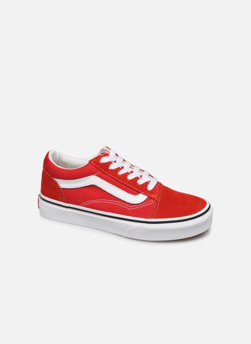 Baskets Vans Old Skool E Rouge vue détail/paire