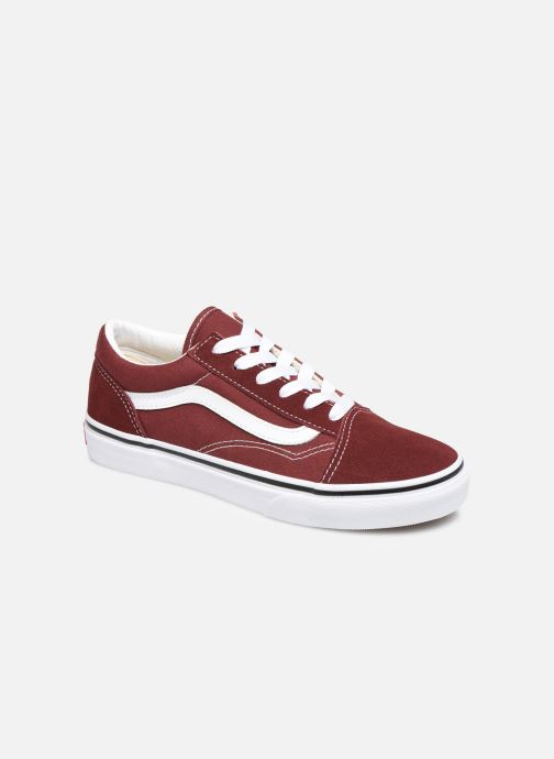 Trainers Vans Old Skool E Burgundy detailed view/ Pair view