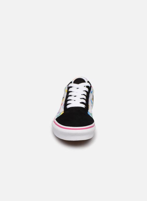 Baskets Vans Old Skool E Multicolore vue portées chaussures