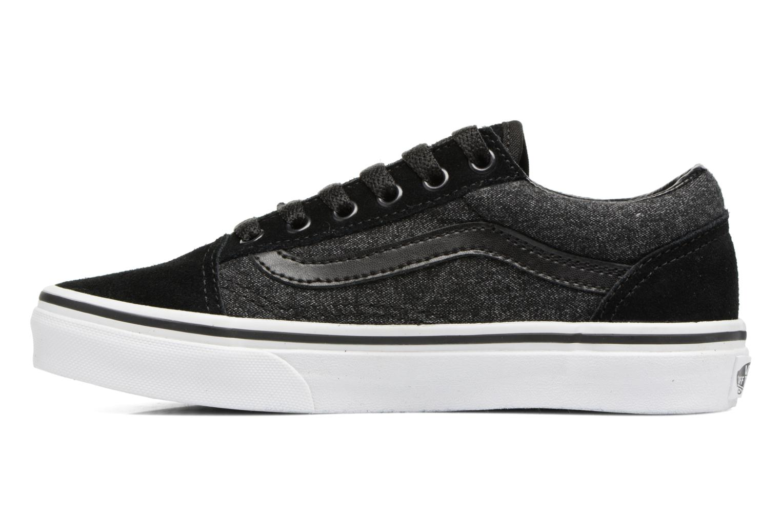 Trainers Vans Old Skool E Black front view
