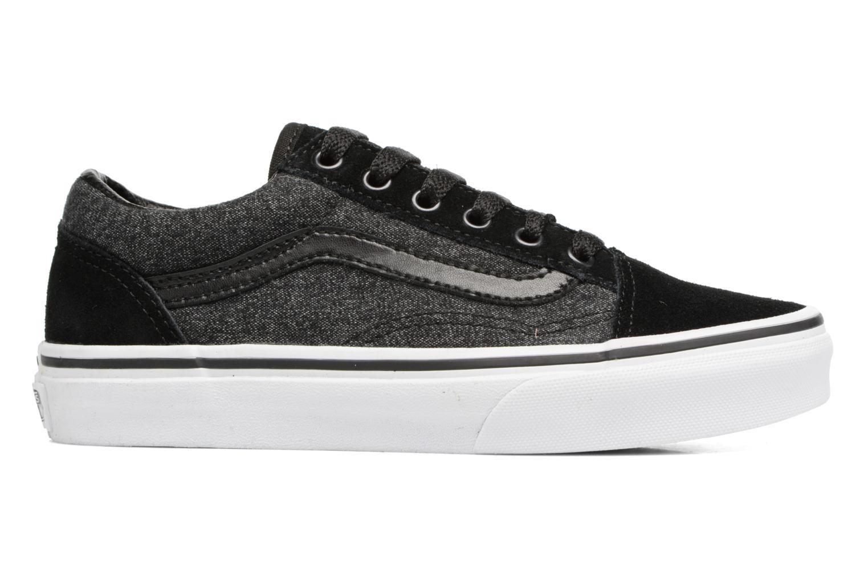 Sneakers Vans Old Skool E Zwart achterkant