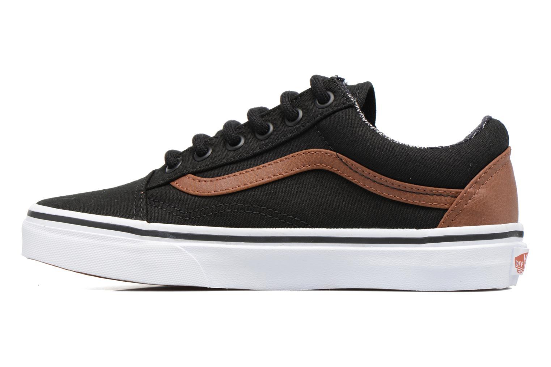Sneakers Vans Old Skool E Sort se forfra