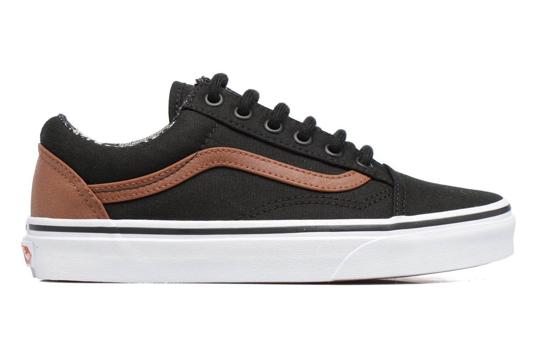 Sneakers Vans Old Skool E Sort se bagfra