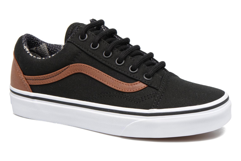 Sneakers Vans Old Skool E Sort detaljeret billede af skoene
