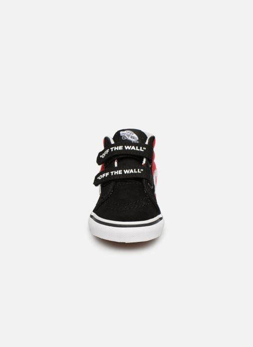 Baskets Vans SK8-Mid Reissue V Rouge vue portées chaussures