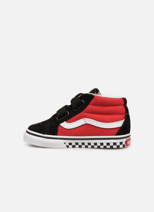 Baskets Vans SK8-Mid Reissue V Rouge vue face