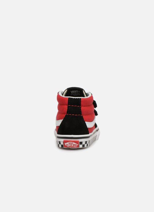 Baskets Vans SK8-Mid Reissue V Rouge vue droite
