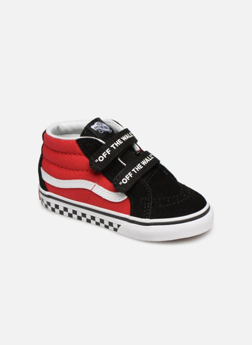 Sneakers Vans SK8-Mid Reissue V Rood detail