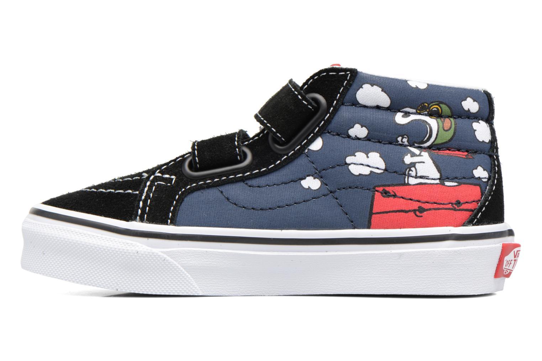 Sneaker Vans SK8-Mid Reissue V blau ansicht von vorne