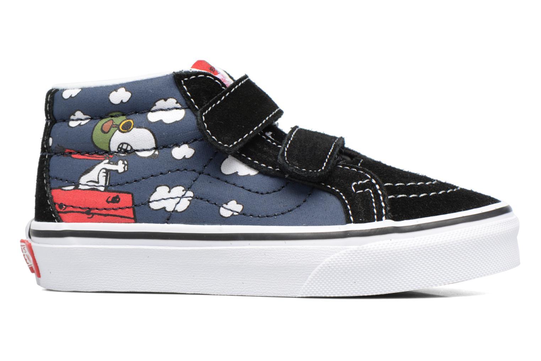 Sneaker Vans SK8-Mid Reissue V blau ansicht von hinten