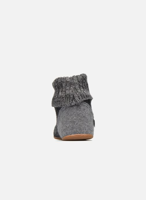 Chaussons Giesswein Wildpoldsried Gris vue droite