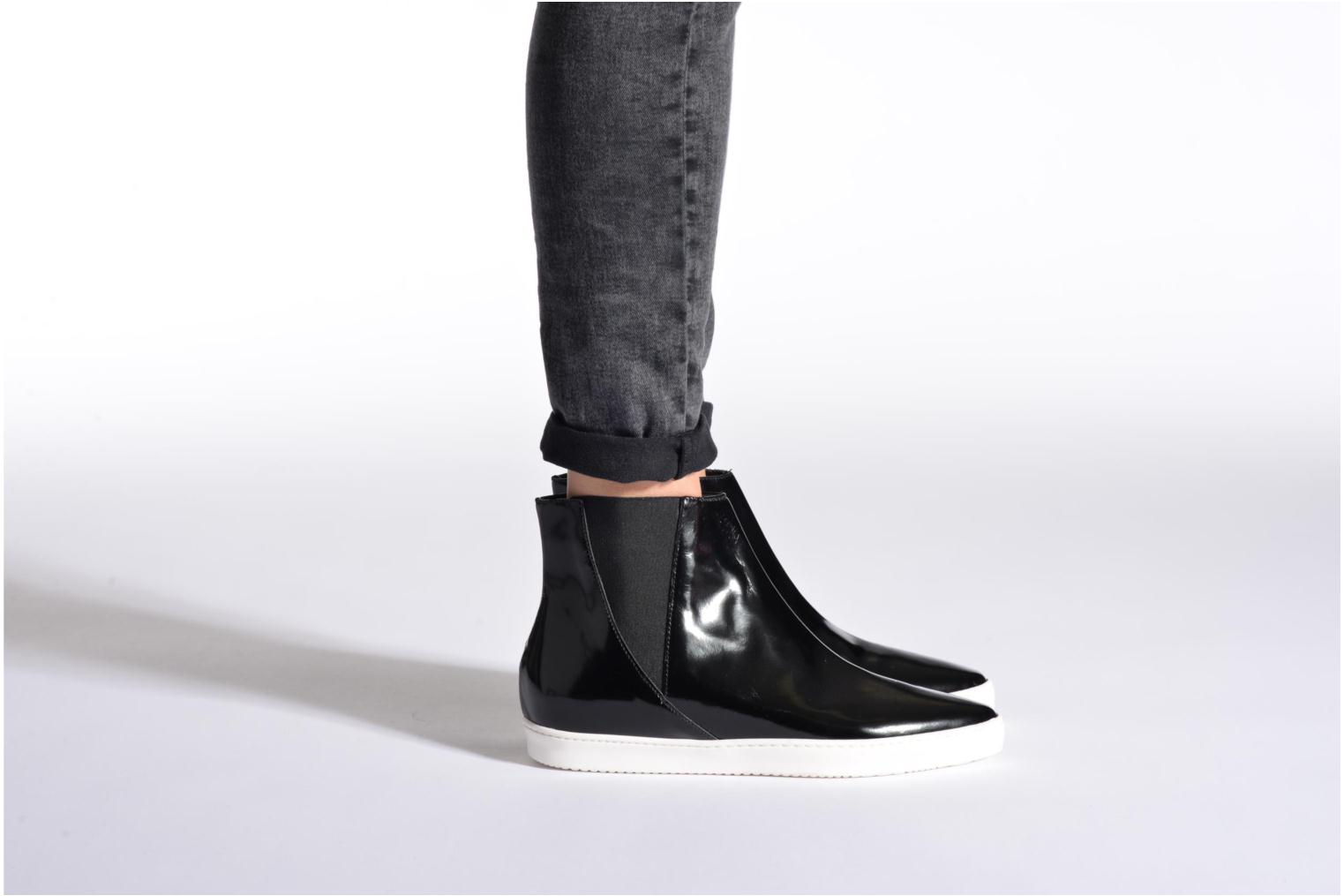 Ankle boots Fabio Rusconi Madalena Black view from underneath / model view
