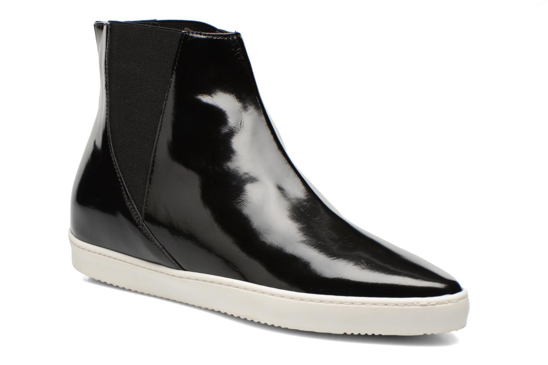 Boots en enkellaarsjes Fabio Rusconi Madalena Zwart detail