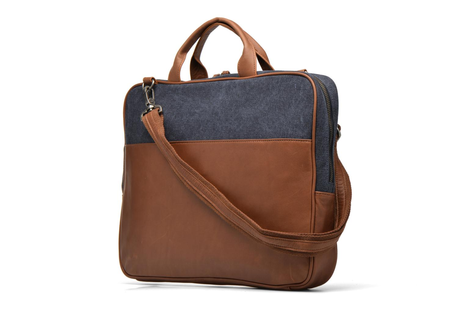 Men's bags Antonyme by Nat & Nin Emile Blue view from the right