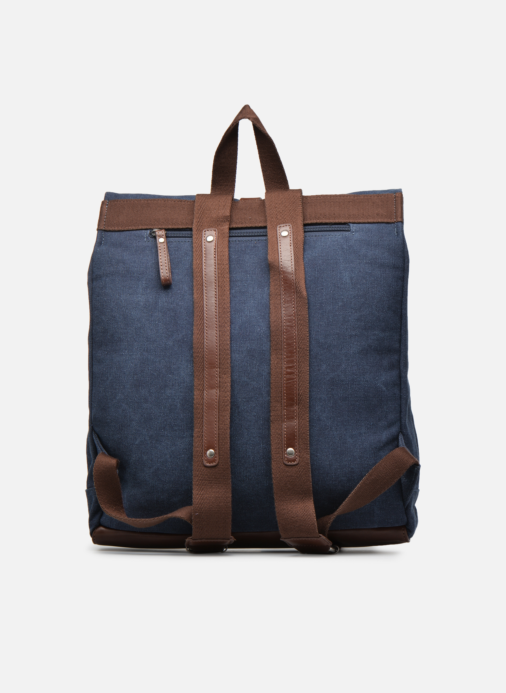 Rucksacks Antonyme by Nat & Nin Ethan Blue front view