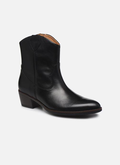 Boots en enkellaarsjes Gabor Adiel Zwart detail