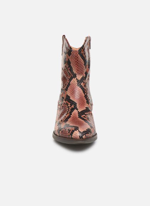 Stiefeletten & Boots Gabor Adiel rosa schuhe getragen