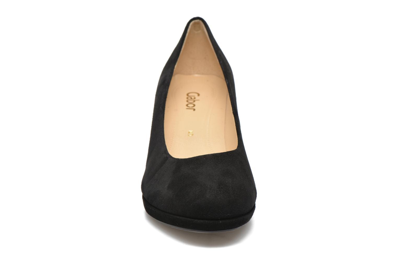 Escarpins Gabor Gilma Noir vue portées chaussures