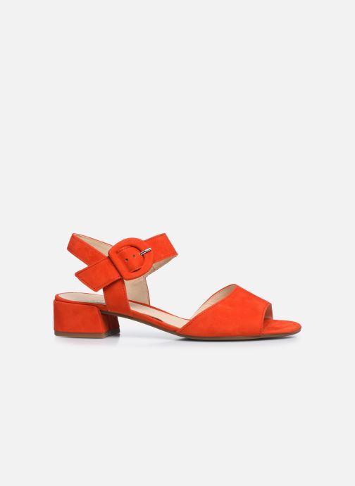 Zapatos de tacón Gabor Ida Rojo vistra trasera