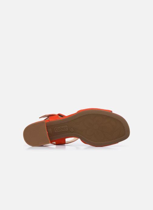 Zapatos de tacón Gabor Ida Rojo vista de arriba
