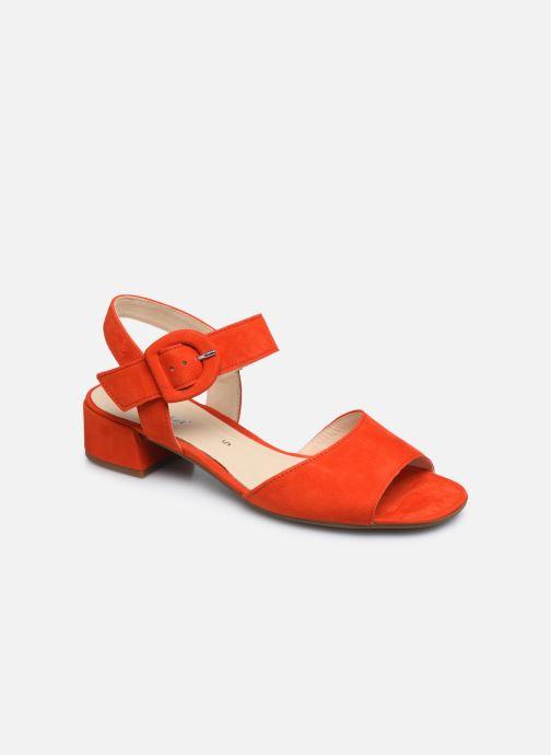 Zapatos de tacón Gabor Ida Rojo vista de detalle / par