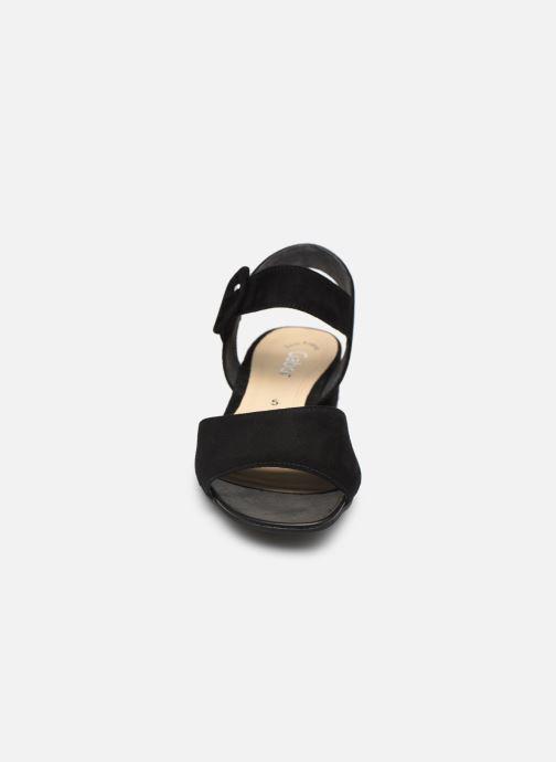 Escarpins Gabor Ida Noir vue portées chaussures