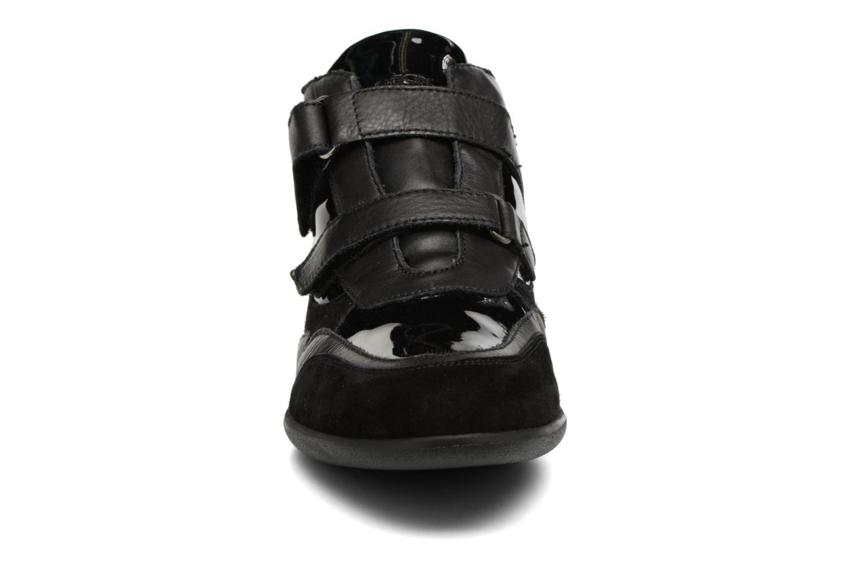 Baskets Geox D PERSEFONE A D540RA Noir vue portées chaussures