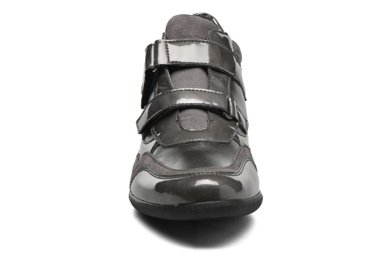 Baskets Geox D PERSEFONE A D540RA Gris vue portées chaussures