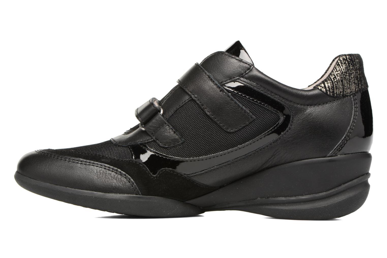 Sneaker Geox D PERSEFONE A D540RA schwarz ansicht von vorne