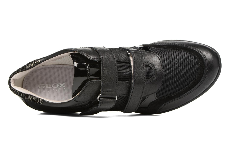 Sneaker Geox D PERSEFONE A D540RA schwarz ansicht von links