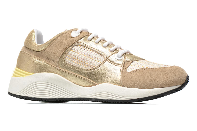 Sneakers Geox D OMAYA A D540SA Goud en brons achterkant