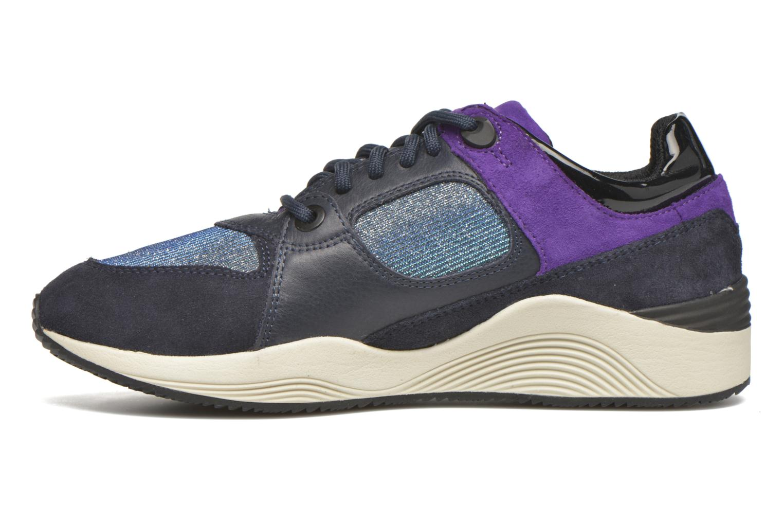 Sneaker Geox D OMAYA A D540SA blau ansicht von vorne