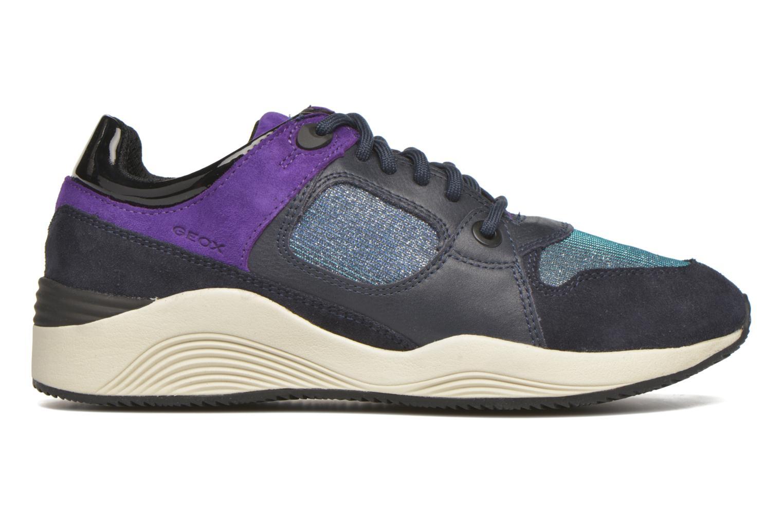 Sneaker Geox D OMAYA A D540SA blau ansicht von hinten