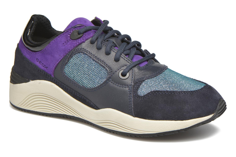 Sneaker Geox D OMAYA A D540SA blau detaillierte ansicht/modell