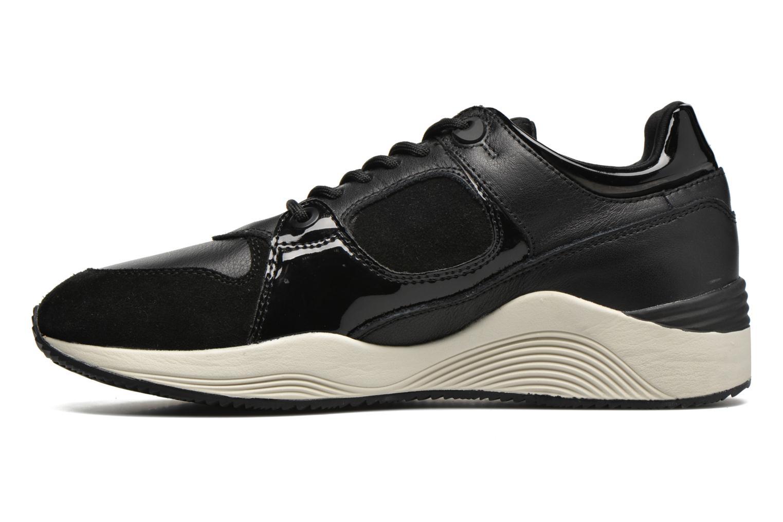 Sneaker Geox D OMAYA A D540SA schwarz ansicht von vorne