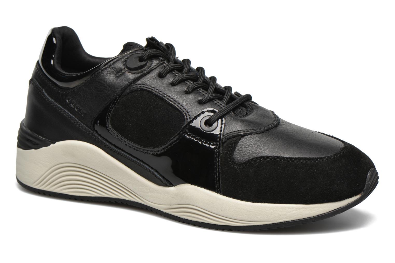 Sneaker Geox D OMAYA A D540SA schwarz detaillierte ansicht/modell