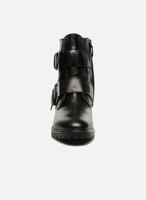 Boots en enkellaarsjes Geox D PEACEFUL C D540GC Zwart model