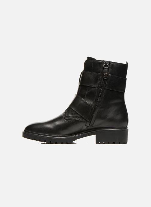Boots en enkellaarsjes Geox D PEACEFUL C D540GC Zwart voorkant