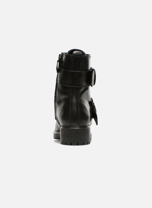 Boots en enkellaarsjes Geox D PEACEFUL C D540GC Zwart rechts