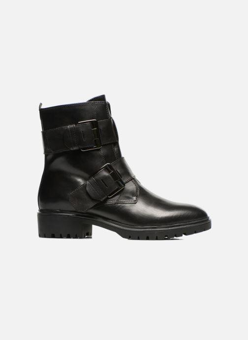 Boots en enkellaarsjes Geox D PEACEFUL C D540GC Zwart achterkant
